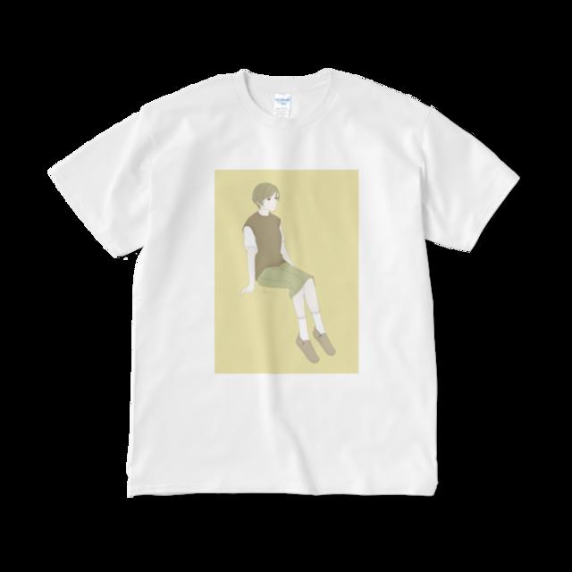 デニムタイト Tシャツ