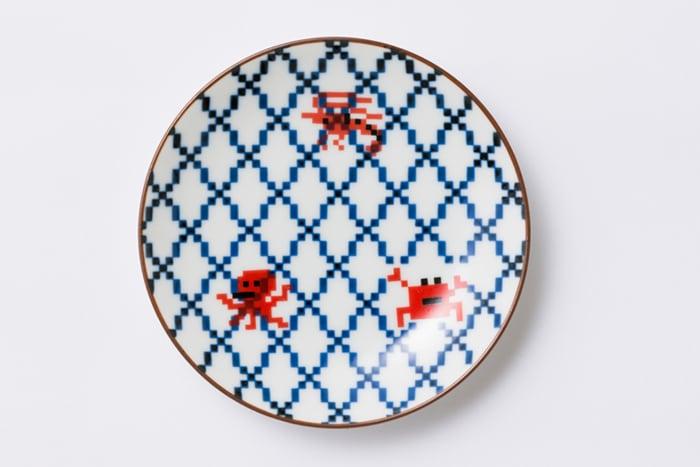 網目 小皿 / The Porcelains
