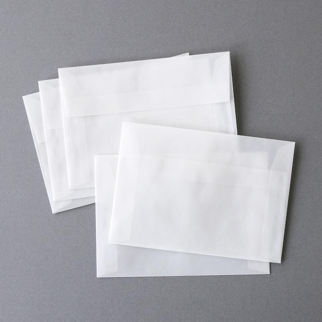 トレーシングペーパー封筒10枚