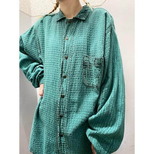 90's EZZE WEAR ロングスリーブシャツ