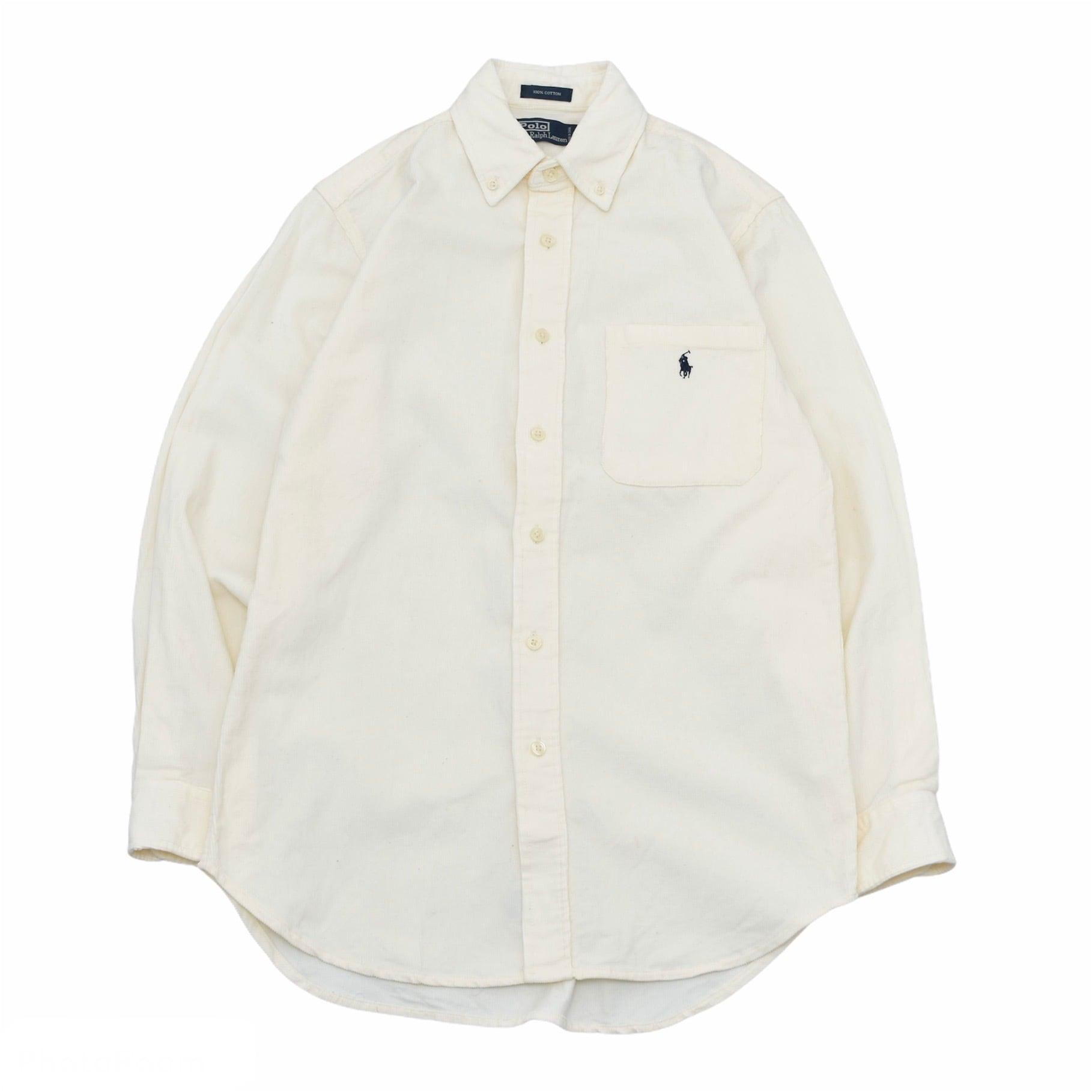 Ralph Lauren color corduroy BD shirt