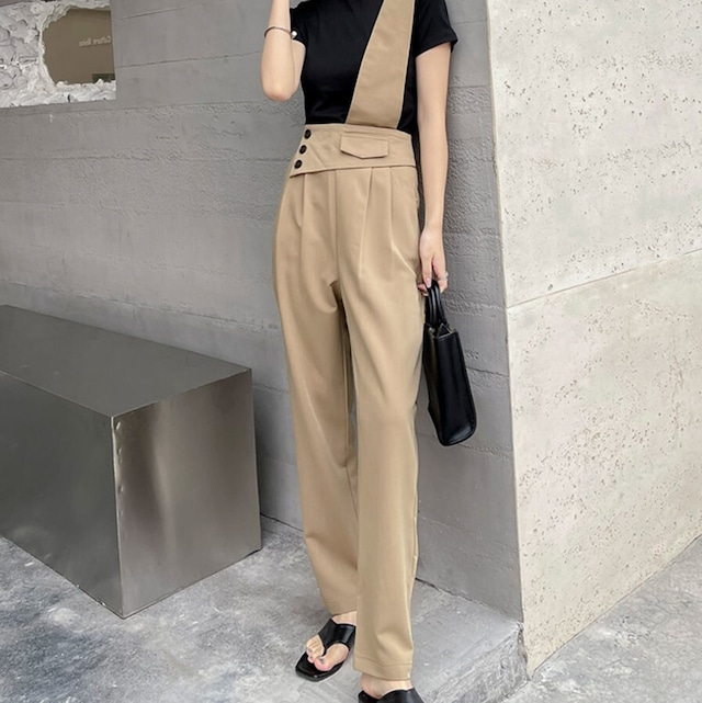 One shoulder overall KRE858