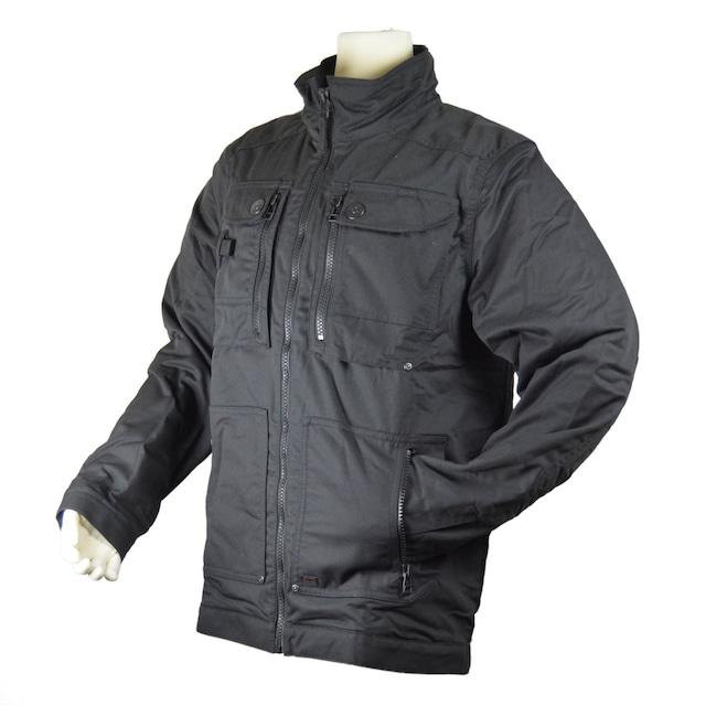 Bush Craft Inc ブッシュクラフト DUNDERDON J56 バンテージジャケット ブラック 自然派 キャンプ アウトドア  10-05-dund-0009