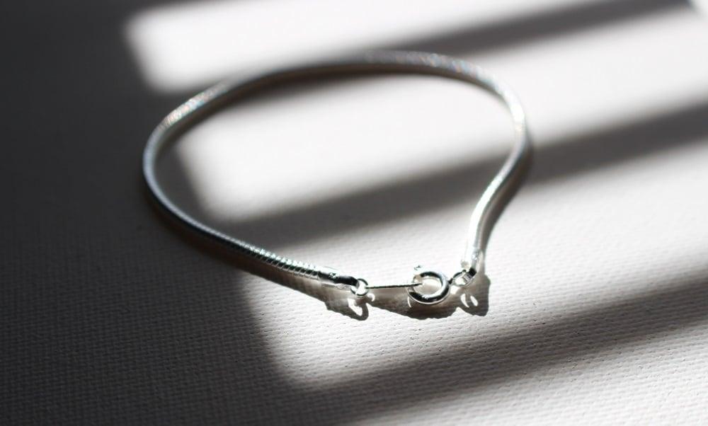 Vo.02 【SNAKE】× chain bracelet  ×  925silver