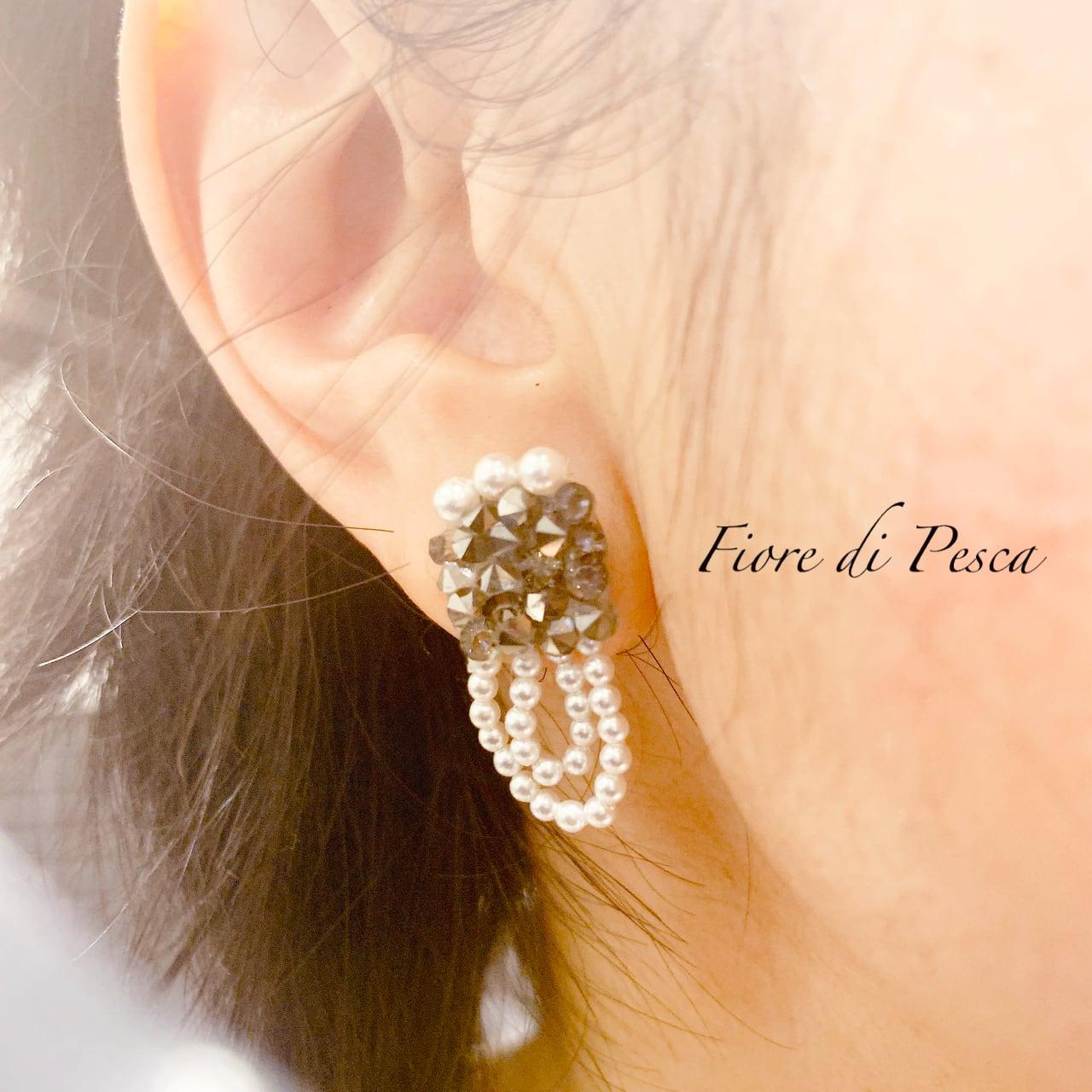 Beatrice Pierce (Earing) grey S