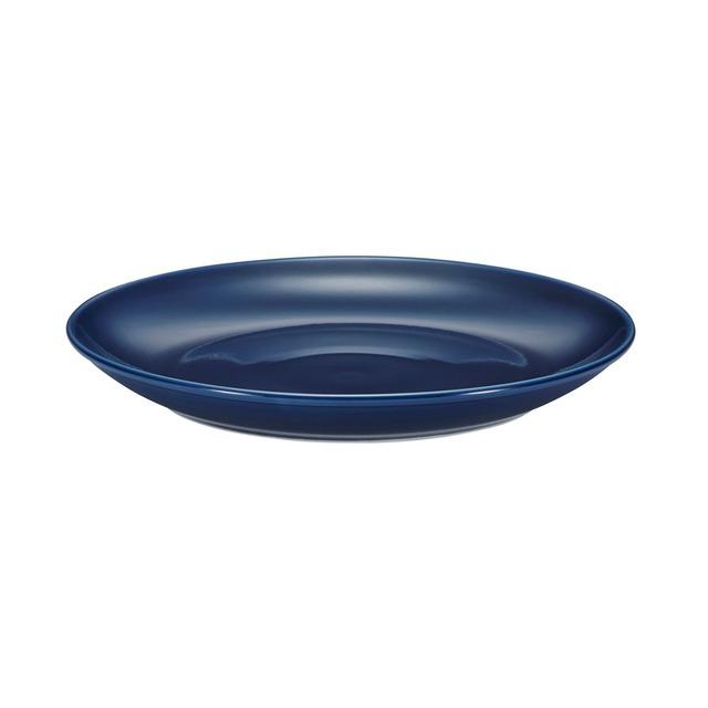 西海陶器 波佐見焼 「コモン」 プレート 皿 240mm ネイビー 13217