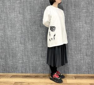 【丸尾末広】トミノの地獄(カタン) ロングスリーブTシャツ