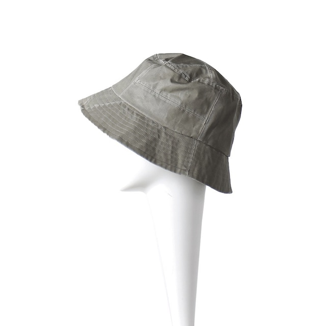 BORDERLINE Patchwork Military Bucket Hat