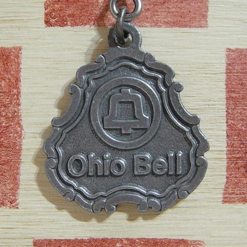 アメリカ Ohio Bell[オハイオ ベル]ベル電話会社広告ヴィンテージ金属製キーホルダー