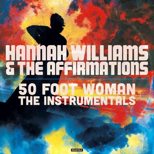 """【ラスト1/LP】Hannah Williams & The Affirmations - 50 Foot Woman """"The Instrumentals"""""""