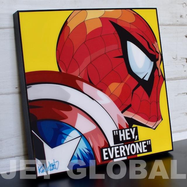 スパイダーマン/ SPIDERMAN VER.2 / Lサイズ 52cm / PAPMA_0030