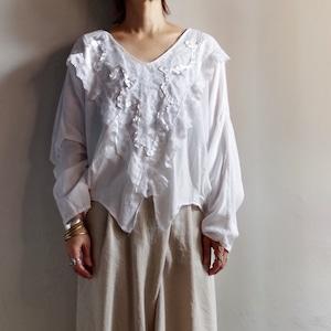 Lace Pullover Shirt / レース プルオーバー シャツ