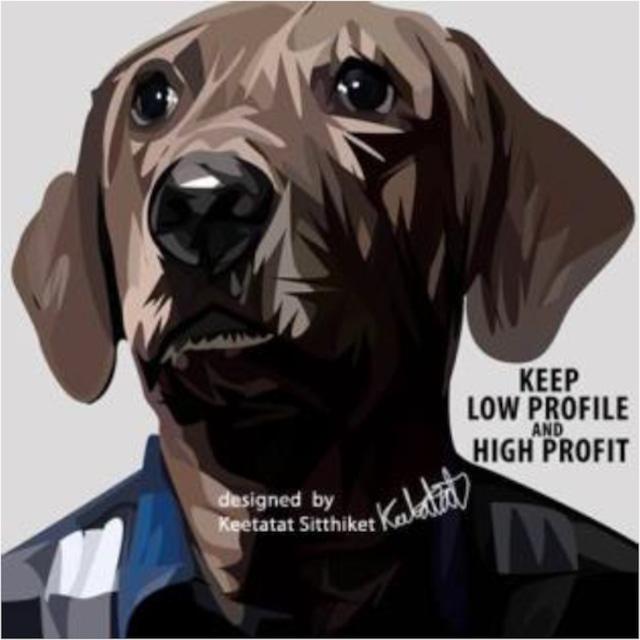 KEEP LOW PROFILE / Lサイズ 52cm / PAPAN_0013