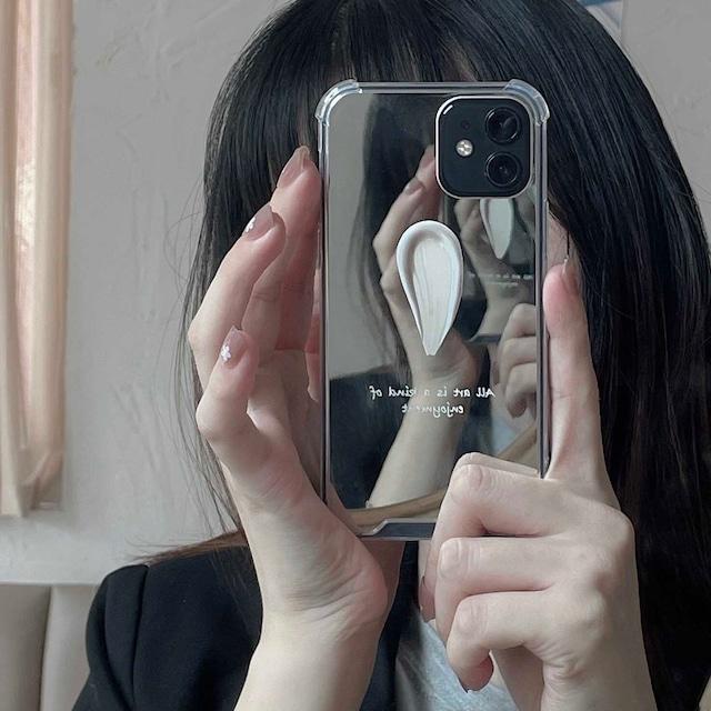 Mirror paint iphone case
