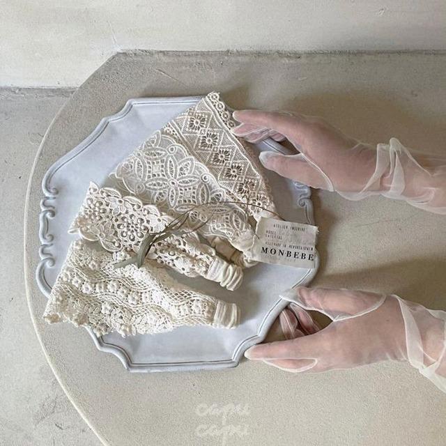 «即納» monbebe lace head dress  レースヘッドドレス