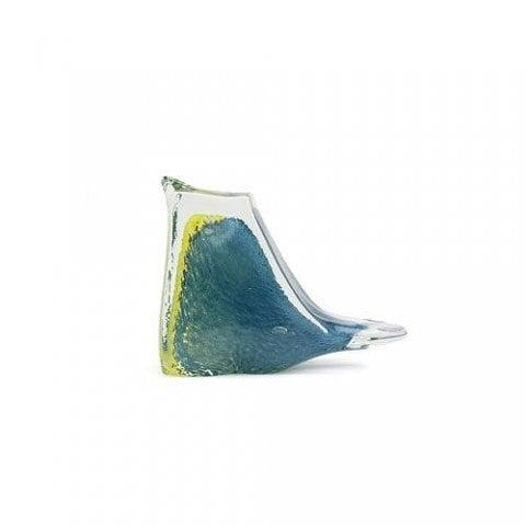 BIRD PAPER WEIGHT (小鳥のガラス製ペーパーウェイト) Sサイズ 【ブルー(S-B)】