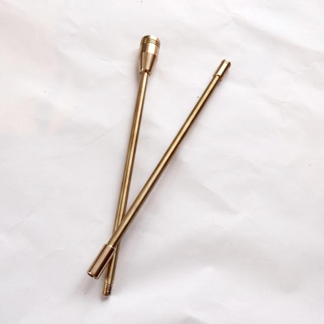野良道具製作所 野良ブラスター 2本継 ALL真鍮 火吹き棒 60cm