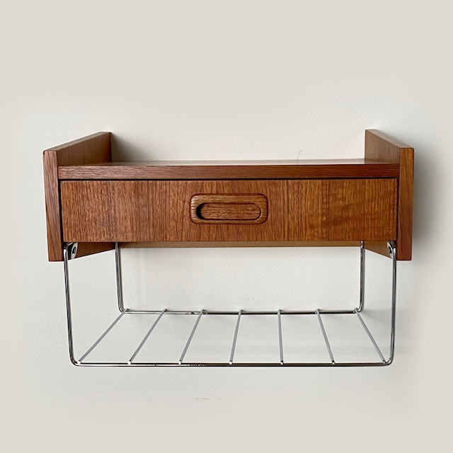 Wall shelf with drawer/ WS023
