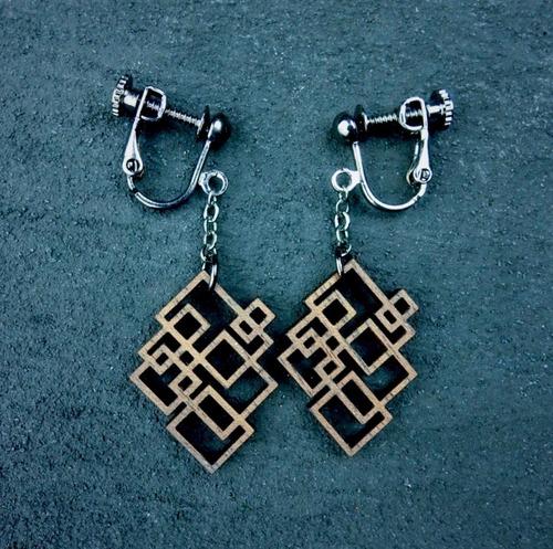 geometric earring EKR-WT