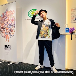 [White / Fullcolor] Collaborative T-shirt by Hiroshi Matsuyama (CyberConnect2) and jbstyle. *Use coupon code for 10% OFF
