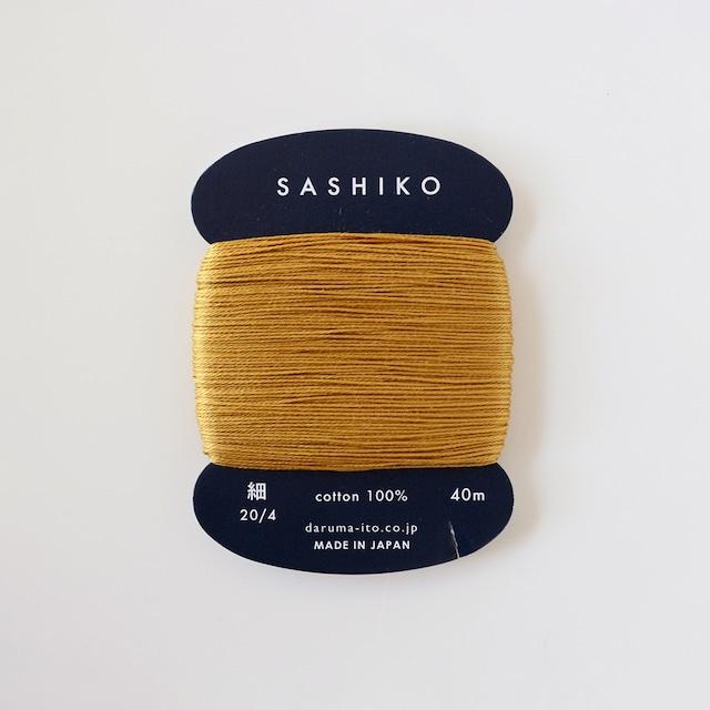 ダルマ刺し子糸(細)単色 220.金茶
