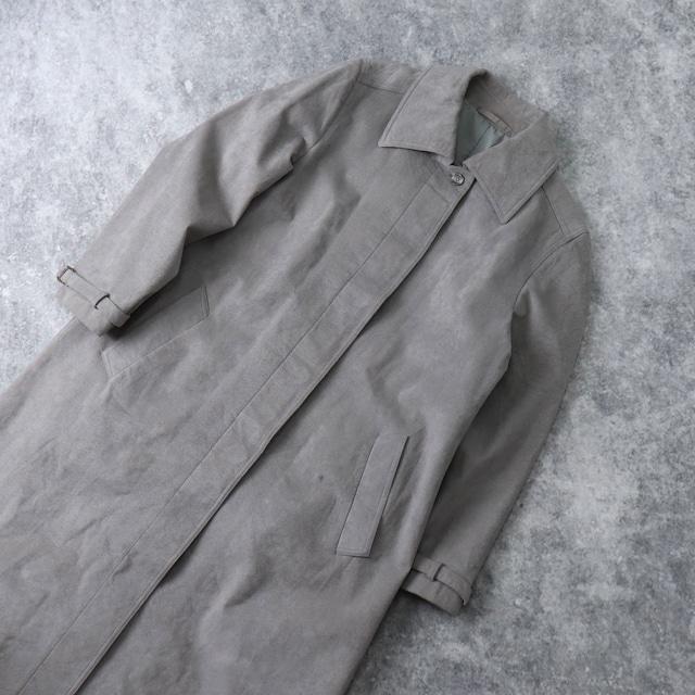 """ユーロ 70年代 ヴィンテージ 古着 イタリア製 フェイクスウェード ロングコート 70's  Euro Vintage """"Bartson's"""" Italy Long  Coat"""