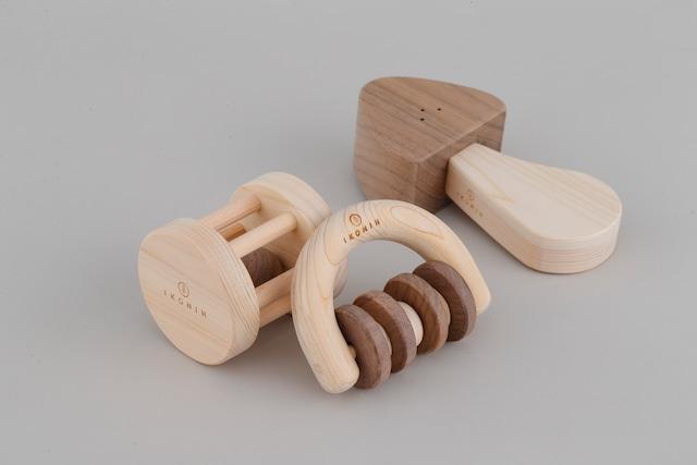 ガラガラシリーズ  RATTLE SERIES | 木のおもちゃ 出産祝い 歯がため