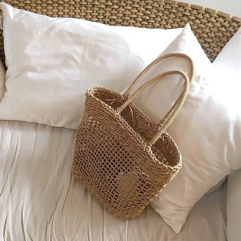 Straw bag(ストローバッグ) a-195