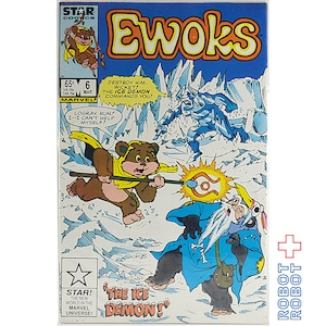 スター・ウォーズ イウォーク コミックス Star Wars Comic Ewoks 6 The Ice Demon
