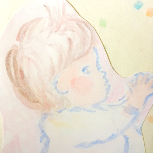 絵画 インテリア アートパネル 雑貨 壁掛け 置物 おしゃれ ロココロ 画家 : あゆみそう 作品 : やわらか赤ちゃん