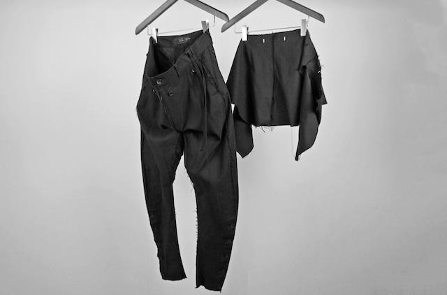 ASKYY / ATELIER PANTS 2ND / BLK