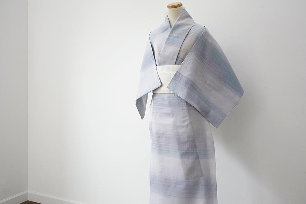 【オーダーメード】お仕立て付 誂え    浴衣・夏着物 綿紅梅 「立夏 りっか」