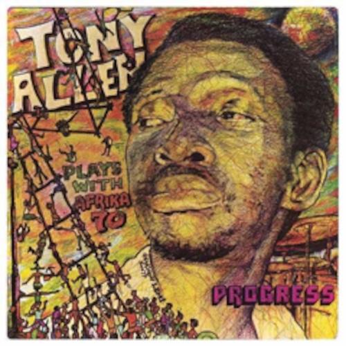 【ラスト1/LP】TONY ALLEN & AFRIKA '70 - PROGRESS