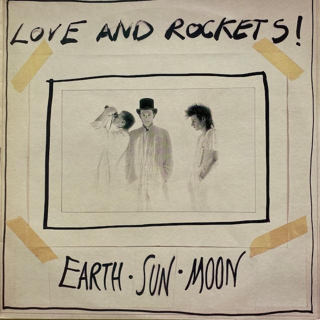 【LP・英盤】Love and Rockets  / Earth • Sun • Moon