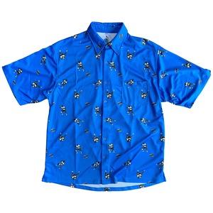 【YBC】Teivovo Aloha shirt Skyblue