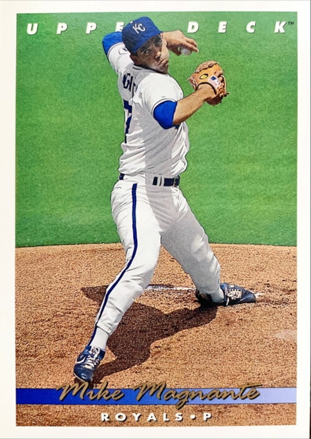 MLBカード 93UPPERDECK Mike Magnante #180 ROYALS