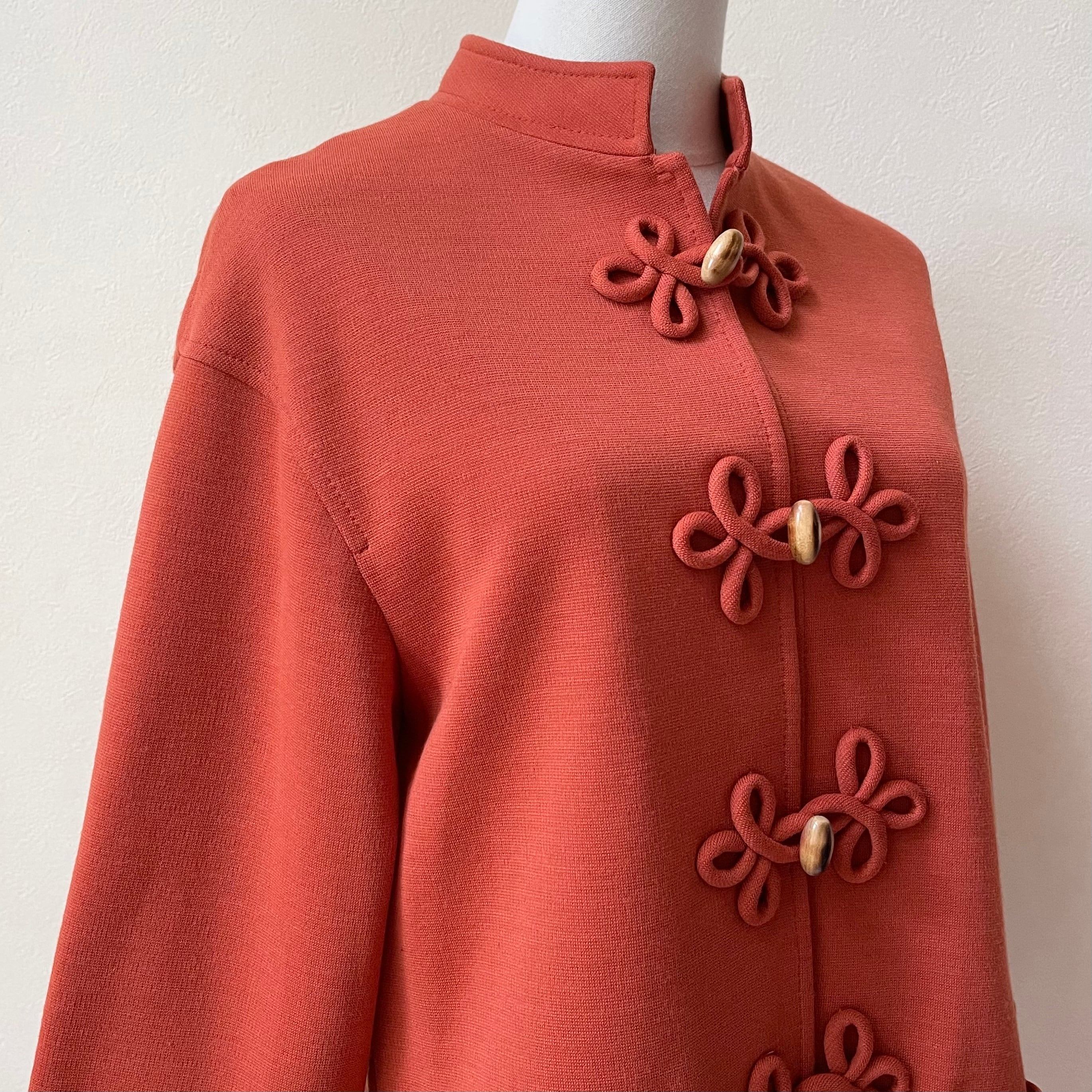 ACT 70年代 USA製 ヴィンテージ チャイナデザイン ジャケット
