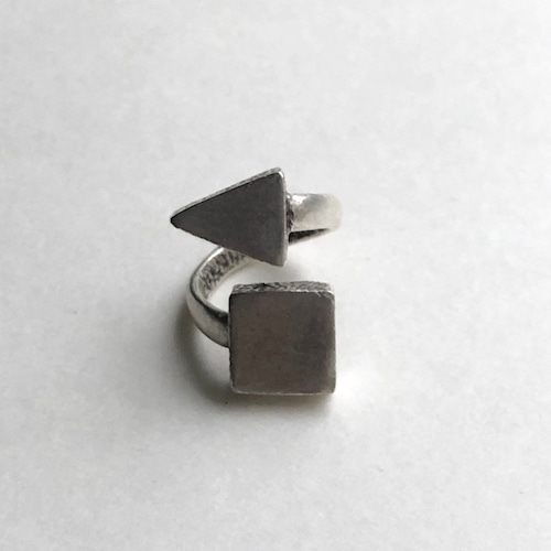 Triangle & square Ring RG-046