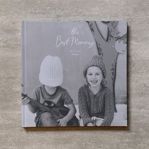 Monochrome-KIDS_A4スクエア_6ページ/6カット_クラシックアルバム