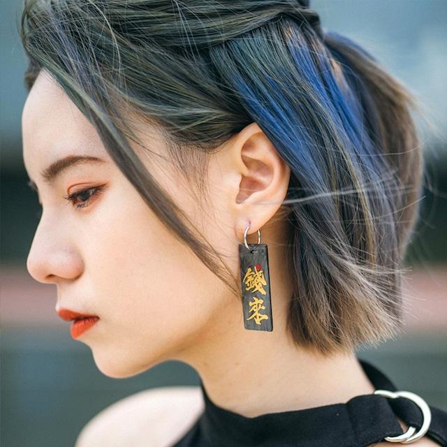 可愛いピアス 耳飾り アクセサリー 成人式 日常 撮影 チャイナ風 合わせやすい 可愛い 個性的