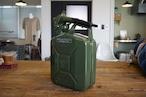 VALPRO社 NATO軍ジェリカン 5L スパウトSET カラーグリーン 新品 本物の質感です。