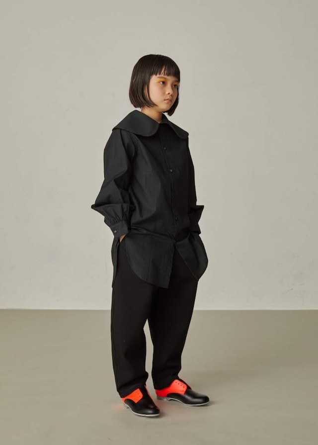 【21AW】GRIS ( グリ )Tapared Pants[XS/S/M]KURO  パンツ テーパード