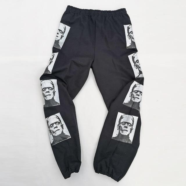 "||||| ""MONSTER"" SWEAT PANTS BLACK"