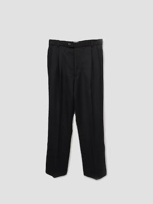Lownn Slit Straight trousers  Black FW21-SPLITSTRAIGHT-684.601-5730