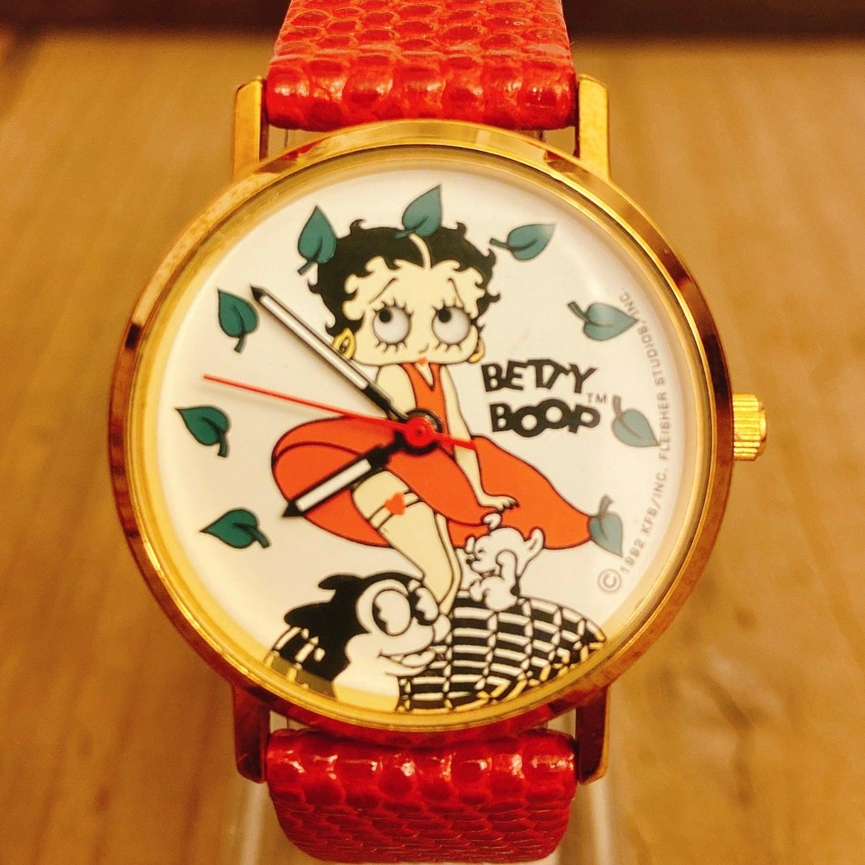 Betty Boop 90`s Tali Red Skirt ウォッチ