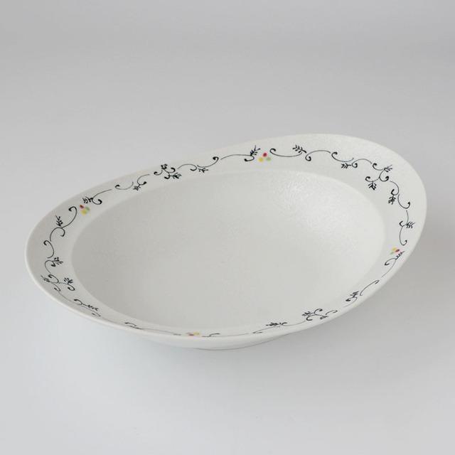 みかわちカレー皿 アラベスク(化粧箱入)