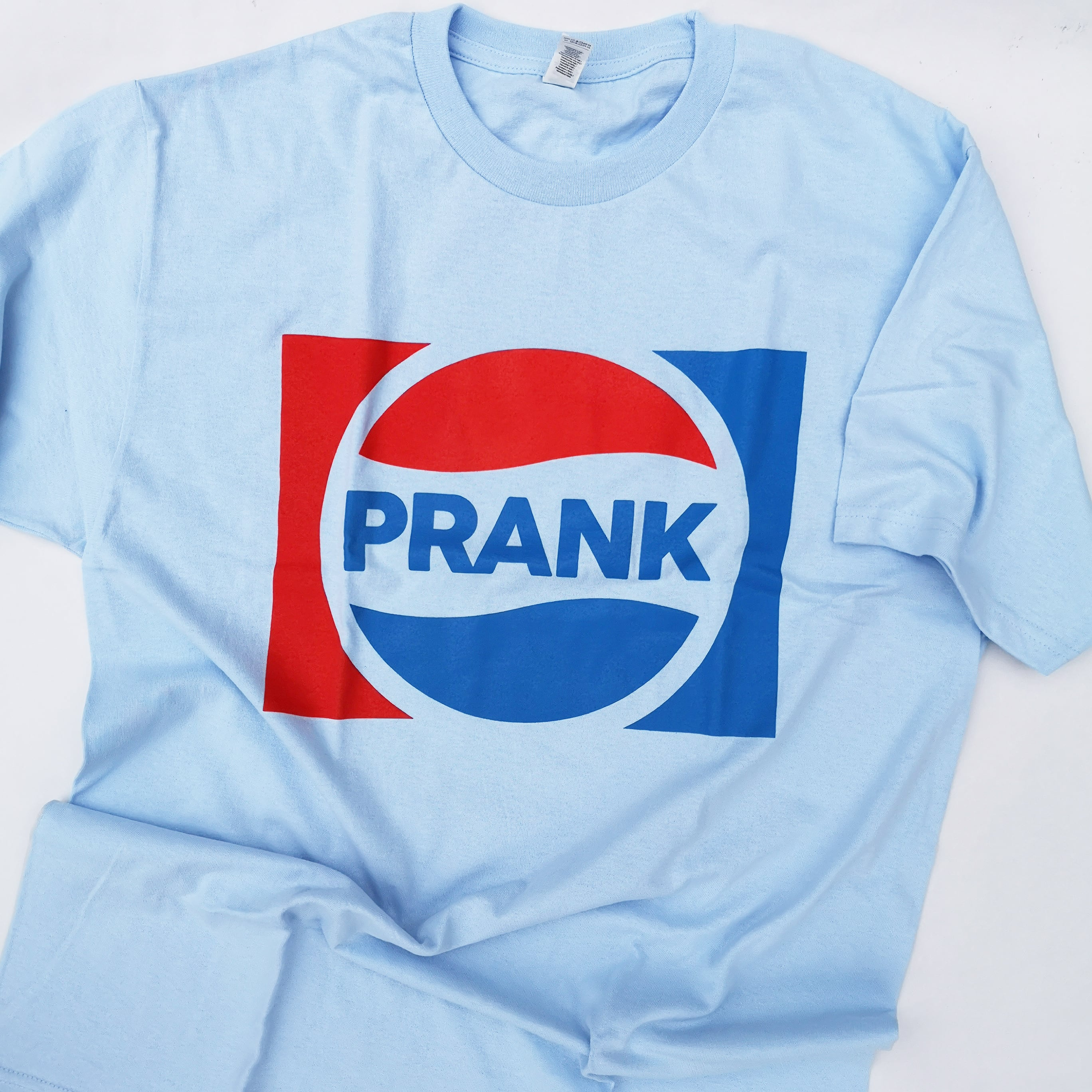 """PRANK Weird Store """"THE CHOICE OF A NEW GENERATION"""" TEE SAX, WHT"""