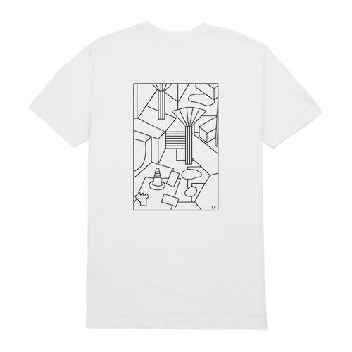 LLSB Artist Series Liisa Chisholm White T-Shirt L long live southbank XL