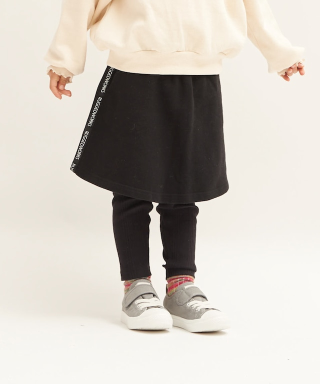サイドラインスウェットスカート