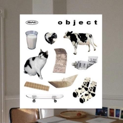 【韓国雑貨】inthemoa. cow object シール